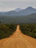 Gravel Road  Stirling Range  Stirling Range National Park  Western Australia  Australia  Pacific