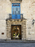 Entrance of Casa Del Conde De Casa Bayona  Now the Museum of Colonial Art  Old Havana  Cuba