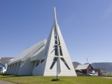 Very Modern Church  Vatnsnes Peninsula  Iceland  Polar Regions