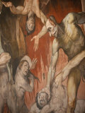 Fresco Depicting Hell  Duomo  Florence  Tuscany  Italy  Europe
