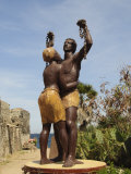 Statue Des Esclaves  Goree Island  Near Dakar  Senegal  West Africa