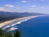 Nehalem Bay State Park Beach  Astoria  Oregon  United States of America  North America