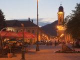 Podol Viilor Street and Libertatii Square  Baia Mare  Maramures  Romania  Europe