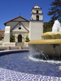 San Buenaventura Mission  Ventura County  California  United States of America  North America