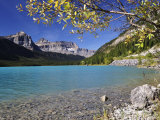 Waterfowl Lake  Banff National Park  UNESCO World Heritage Site  Rocky Mountains  Alberta  Canada