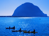 Kayak Rental and Morro Rock  City of Morro Bay  San Luis Obispo County  California  USA