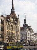 Memorandumului Boulevard  Cluj Napoca  Transylvania  Romania  Europe