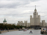 Stalin Era Building at Kotelnicheskaya Embankment  Moscow  Russia