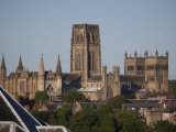Durham Cathedral from the Southeast  UNESCO World Heritage Site  Durham  England