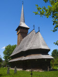 Bogdan Voda Wooden Church  UNESCO World Heritage Site  Bogdan Voda  Maramures  Romania  Europe