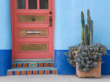 House Detail  El Presidio Historic District  Tucson  Arizona  United States of America