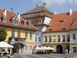 Mare Square  Sibiu  Transylvania  Romania  Europe