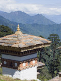 Site of 108 Chortens  Built  2005 to Commemorate Battle with Militants  Dochu La Pass  Himalayas