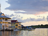Waterfront Hotels  Colon Island (Isla Colon)  Bocas Del Toro Province  Panama  Central America