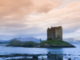 Castle Stalker  Near Port Appin  Argyll  Highlands  Scotland  United Kingdom  Europe