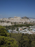 Acropolis on the Skyline  Athens  Greece  Europe