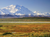 Mount Mckinley (Mount Denali)  Denali National Park and Preserve  Alaska