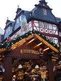 Weihnachtsmarkt (Christmas Market)  Frankfurt  Hesse  Germany  Europe