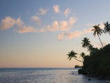 Sunset  Maupiti Lagoon  Maupiti  French Polynesia  South Pacific Ocean  Pacific