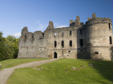Balvenie Castle  Dufftown  Highlands  Scotland  United Kingdom  Europe