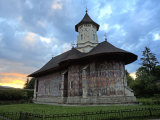 Sucevita Monastery  UNESCO World Heritage Site  Bucovina  Romania  Europe