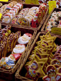 Handpainted Biscuits  Christkindelsmarkt (Christmas Market)  Nuremberg  Bavaria  Germany