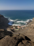 View of the Remote Village of Alojera  La Gomera  Canary Islands  Spain  Atlantic  Europe