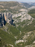 Gorges Du Verdon  Provence  France  Europe