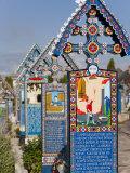 Merry Cemetery  Sapanta  Maramures  Romania  Europe