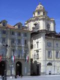 Piazza Castello  Turin  Piedmont  Italy  Europe