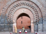 Bab Agnaou (Bab Er Rob)  Marrakech (Marrakesh)  Morocco  North Africa  Africa