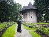 Humor Monastery  UNESCO World Heritage Site  Gura Humorului  Bucovina  Romania  Europe
