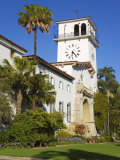 Clock Tower  Santa Barbara County Courthouse  Santa Barbara  California  United States of America  