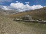 Old Caravanserai Tash Rabat Along the Old Silk Road  Torugart Pass  Kyrgyzstan  Central Asia