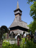Lemn Din Deal Wooden Church  UNESCO World Heritage Site  Ieud  Maramures  Romania  Europe