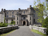 Dunvegan Castle  Isle of Skye  Scotland  United Kingdom  Europe