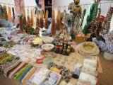Market at Ngueniene  Near Mbour  Senegal  West Africa  Africa