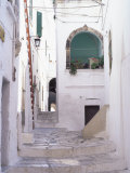 Typical Street  Ostuni  Puglia  Italy  Europe