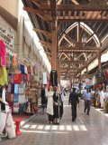 Textile Souk  Bur Dubai  Dubai  United Arab Emirates  Middle East