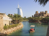 Madinat Jumeirah and Burj Al Arab Hotels  Jumeirah Beach  Dubai  United Arab Emirates  Middle East