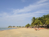 Beach at Saly  Senegal  West Africa  Africa