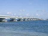 Bridge Connecting Sanibel Island to Mainland  Gulf Coast  Florida  United States of America  North