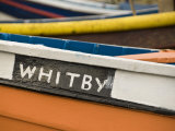 Close Up of a Colourful Fishing Boat in Whitby  Yorkshire  England  United Kingdom  Europe