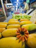 Papaya Fruit  Bangsar Sunday Night Market  Kuala Lumpur  Malaysia  Southeast Asia  Asia