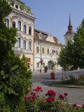 Trandafirilor Square  Targu Mures  Transylvania  Romania  Europe