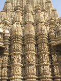 Kandariya Mahadeva Temple  Largest of the Chandela Temples  Khajuraho  Madhya Pradesh State  India