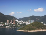 View of Repulse Bay from Ocean Park  Hong Kong Island  Hong Kong  China  Asia