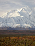 Mount Mckinley (Mount Denali)  Denali National Park and Preserve  Alaska  United States of America