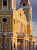 Cathedral De Granada  Park Colon (Park Central)  Granada  Nicaragua  Central America