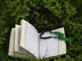 Koran and Prayer Beads  Chatillon-Sur-Chalaronne  Ain  France  Europe